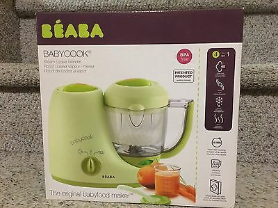 Beaba Babycook Classic Food Maker NEW!  Also New Freezer Containers Included