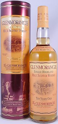 Glenmorangie 10 Years Old Bottling Highland Single Malt Scotch Whisky 40,0% Vol.