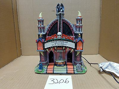Lemax Spooky Town Mortis Theater 75496 As-Is 3206