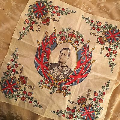 Coronation Edward VIII Handkerchief