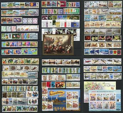 Jersey MNH Lot. Sets MS's etc including Commemoratives, Definitives, Postage Due