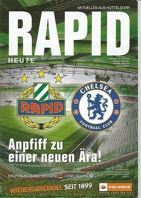 RAPID VIENNA v CHELSEA  2016/17 Friendly