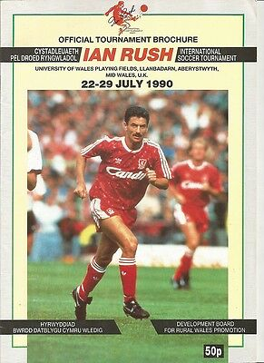 IAN RUSH TOURNAMENT 1990  Incl CARDIFF CITY SWANSEA +