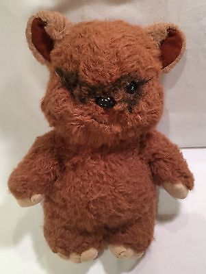 "1983 Kenner Star Wars WICKET THE EWOK Plush Figure 15"" Vintage Collectible"