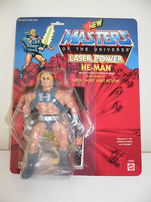 Masters Of The Universe Figures - Laser Power He-Man Moc (Barbarossa Art)