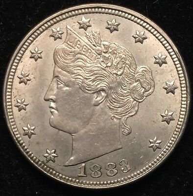 1883 5C Liberty Nickel #