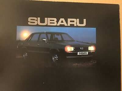 Car Brochure - 1980 Subaru 1600 - UK
