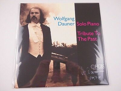 WOLFGANG DAUNER: SOLO PIANO/TRIBUTE TO THE PAST - VINYL (Signiert/limitiert)