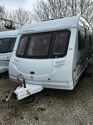 Sterling Europa 495 Fixed Bed 2005 Caravan with Motor Mover &Awning