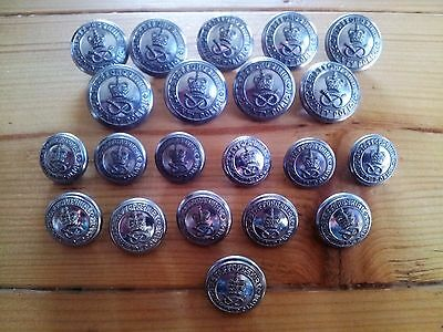 Staffordshire County Police Jacket Buttons