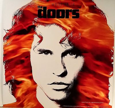 THE DOORS  Movie Soundtrack 12 x 12 album flat suitable for framing  1990