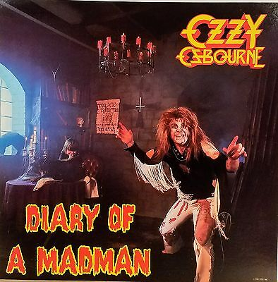 OZZY OSBOURNE 'Diary Of A Madman' Promo album flat suitable for framing Mint!