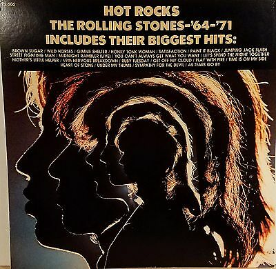 ROLLING STONES 'Hot Rocks' Album flat suitable for framing 1971 Mint!