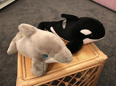Whale And Dolphin From Disney America