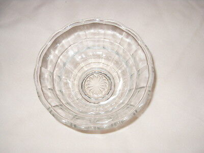 Retro/vintage glass sugar bowl    sugar basin