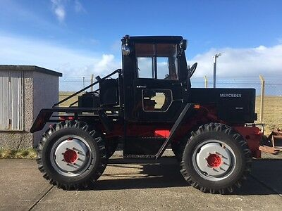 Mercedes MB Trac 800 1980 1981 track unimog tractor offroad