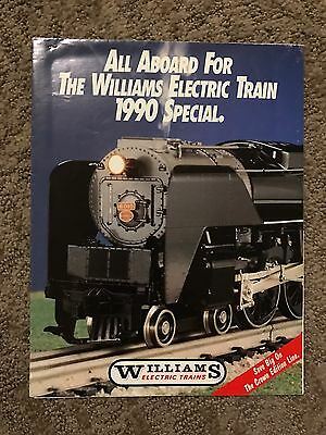All Aboard The Williams Electric Train 1990 Special Poster Catalog