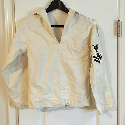 WW1-2 US Navy Patched Jumper
