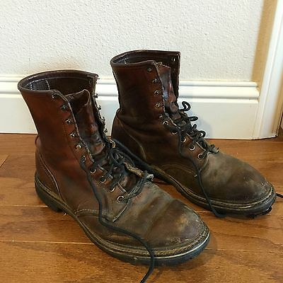 Vintage Red Wings Boots Size 11