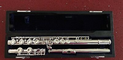 Sankyo Artist Professional Closed-Hole Flute With C-Foot And Split E (Superb)