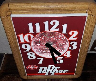 The Dr. Pepper Collection Clock Howard 10 2 4 Feb 1987 Vintage Ten Two Four