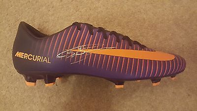 Chris Smalling Hand Signed Football Boot Manchester United Proof.