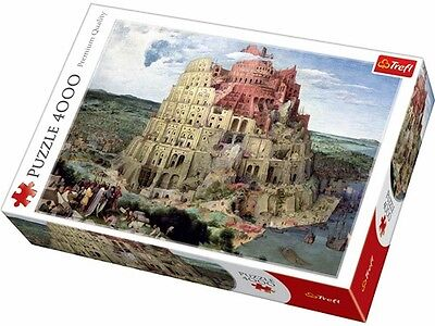 Trefl 4,000 Piece Jigsaw Puzzle - The Tower Of Babel