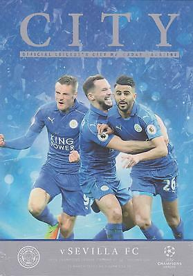 2016/17 - LEICESTER CITY v SEVILLA (CHAMPIONS LEAGUE - 14th March 2017)