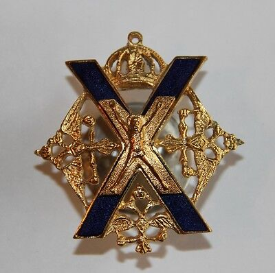 Russian Imperial White Guard Sign Award - Preobrazhensk Regiment - Copy