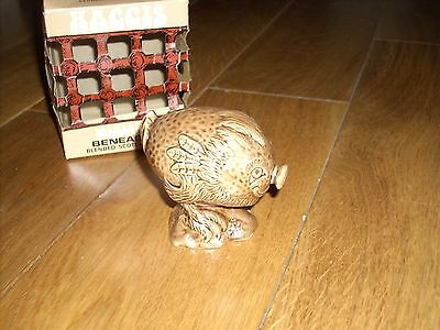 Boxed Beswick Beneagles Haggis Miniature Flask with Leaflet