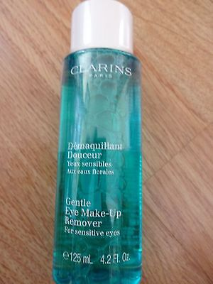 Clarins Gentle Eye Make-Up Remover - 125ml Brand New & Sealed