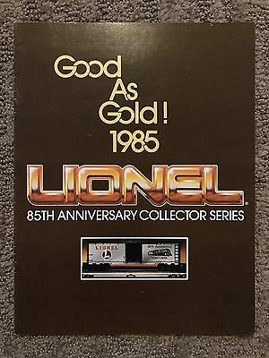 1985 Lionel Trains Catalog 85th Anniversary Collector Series