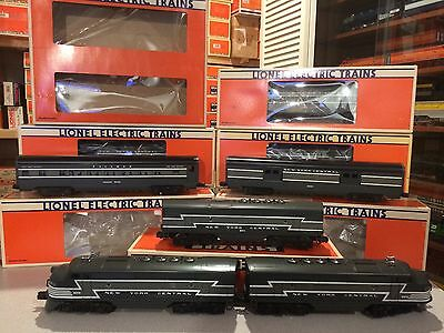 Lionel 8370 / 8371 NYC F-3 ABA with 9594-9598, 7202+19137 Cars