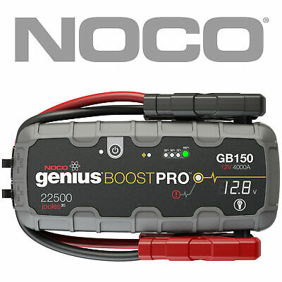 NOCO GB150 GENIUS BOOST 12V 4WD Car Ute Jump Starter up to 10.0L Diesel Engine