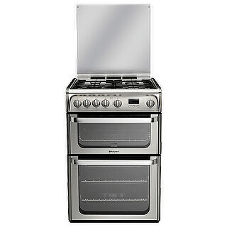 Hotpoint HUG61X Gas Kitchen Range Stainless Steel