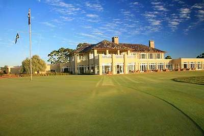 18 Holes for Three Players at The Royal Melbourne Golf Club with a PGA Pro