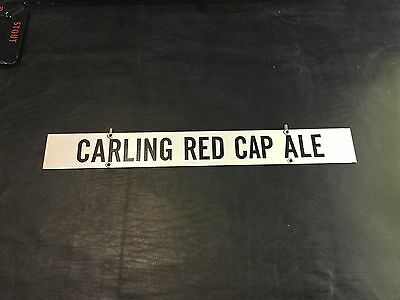 On Draft Today Carling Red Cap Ale  Beer Hanger