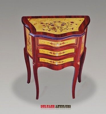 exquisite French side table Directoire style commode