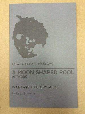 """Radiohead Promotional Artwork """"How To"""" Booklet for A Moon Shaped Pool LP"""