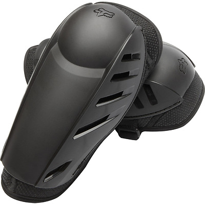 Fox Racing Black Launch Sport Mtb Elbow Pads Guards For Downhill Cycle Size L Xl