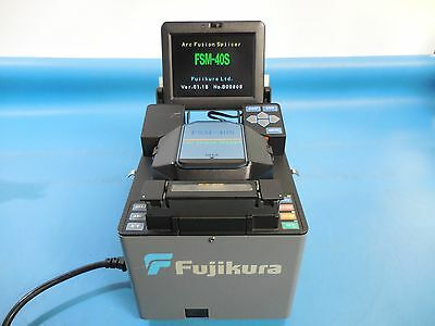Fujikura FSM-40S SM MM Fiber Core Alignment Fusion Splicer