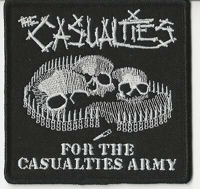 The Casualties-For The Casualties Army Embroidered Patch