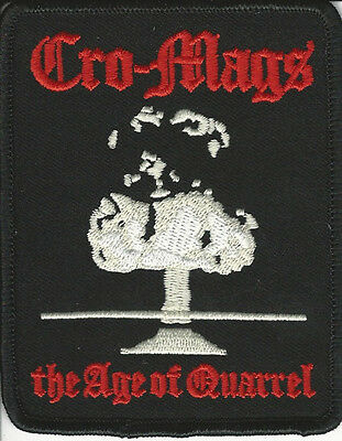 Cro-Mags- The Age Of Quarrel Embroidered Patch