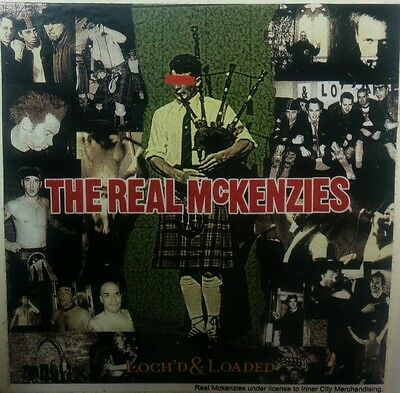 The Real Mckenzies- Loch'd & Loaded Sticker