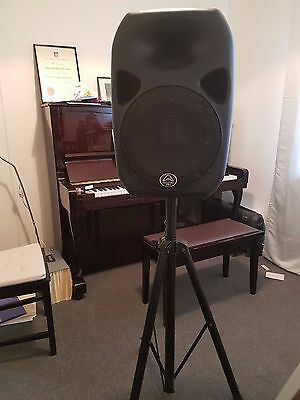 """Wharfedale Titan Pro 12"""" PA Speaker and Stand"""
