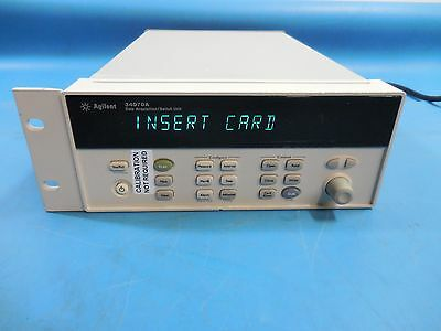 Agilent HP 34970A Data Acquisition Switch Unit without Cards or Handle