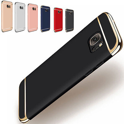 Ultra-thin Camera Protector Shockproof Back Case Cover For Samsung Galaxy Phones