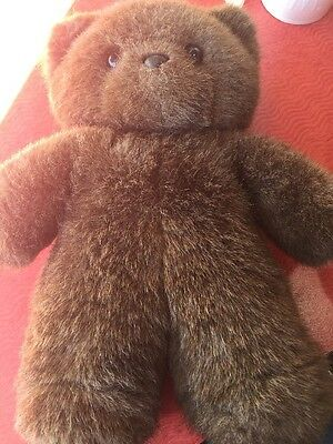VINTAGE APPLAUSE VERY SPECIAL FATHER'S DAY DAD BEAR TAFFY PLUSH Used