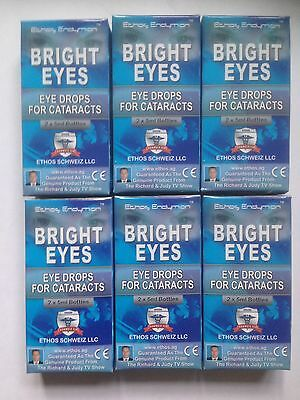 Ethos Bright Eyes Eye Drops for Cataracts Discounted 6 Boxes 60ml