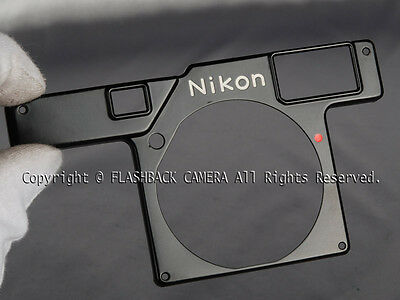 @Very Rare@ Nikon S3 Blackpaint Finder Cover for S3 Paint and S3 Olympic #009705